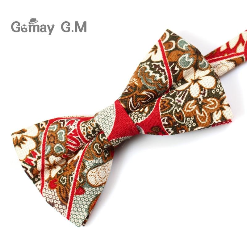 Këpucë pambuku zyrtare të rregullueshme, kravatë Vintage me lule - Aksesorë veshjesh - Foto 3