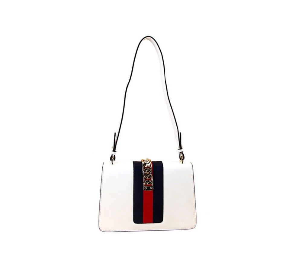 De Designer Luxe En red Cuir Bagboy Mode Loisirs Pour Messager White black 100 Sac Bandoulière Les Épaule À Dames Véritable Sacs Main Femmes zwxvq8v05B