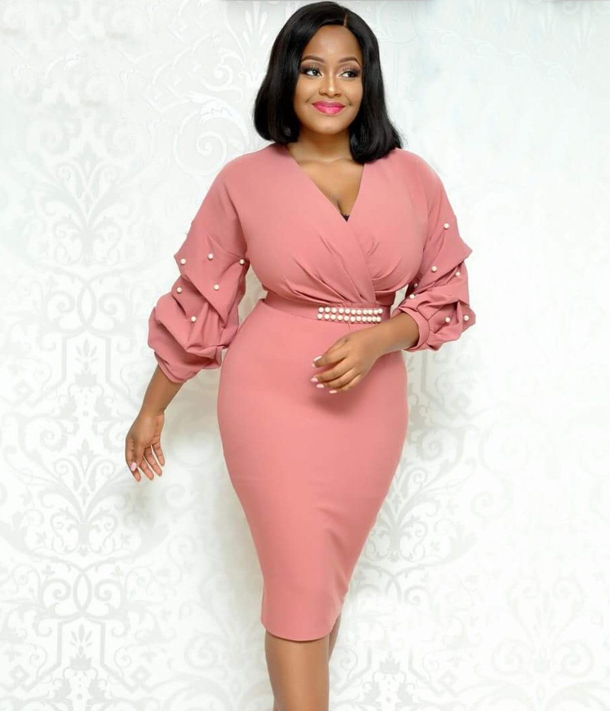 2019 New Summer Fashion Style African Women Plus Size Dress