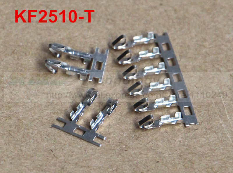 Free shipping! 100pcs/lot KF2510-T crimp terminals for KF2510 2510 Female housing 2.54MM spacing connector 100pcs lot ka3525a 3525a ka3525 dip 16 free shipping new