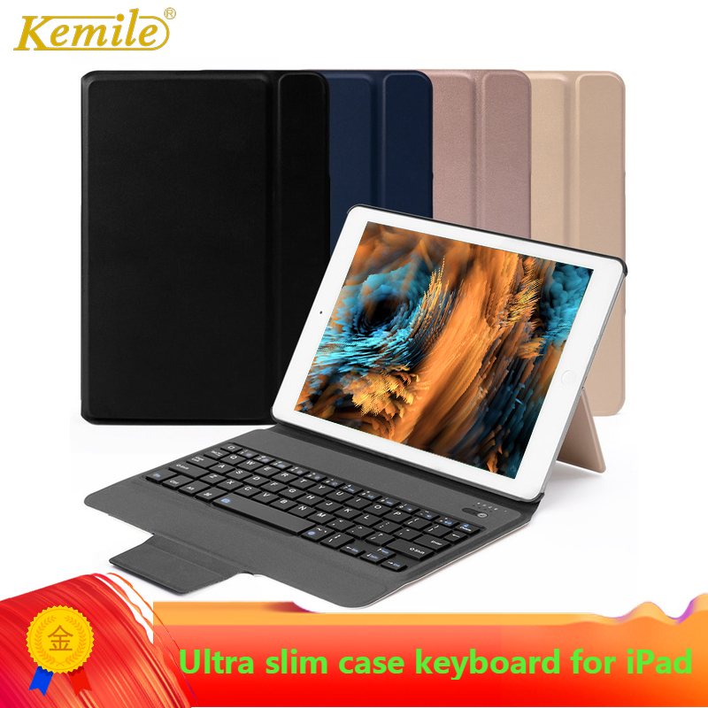 Kemile Ultra slim Case Keyboard for iPad 9.7 2017/2018 Pro 9.7 Air 9.7 For mini 5 7.9 inch For iPad Air 3 10.5 Pro 11 12.9 Case-in Tablets & e-Books Case from Computer & Office on AliExpress - 11.11_Double 11_Singles' Day 1