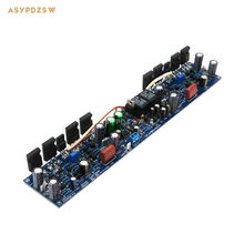 Professional version L50 500W 8 ohm Full bridge mono preamplifier and power amplifier integrated AMP finished board
