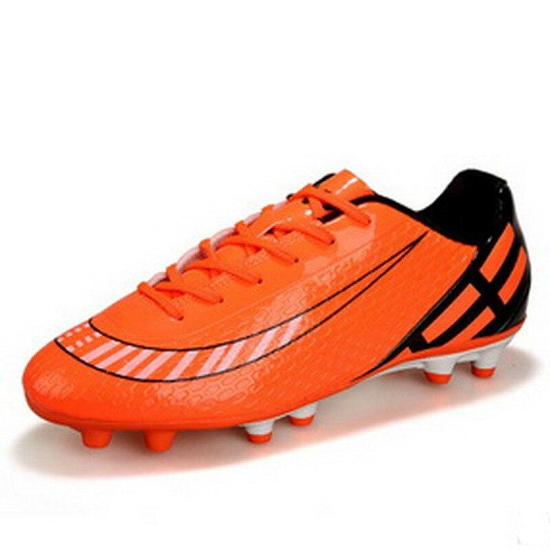Bottes De Football pour enfants 2018 Crampons De pied Hautes Chevilles chaussures De Football pour enfants chaussures De sport pour jeunes offre spéciale en chine
