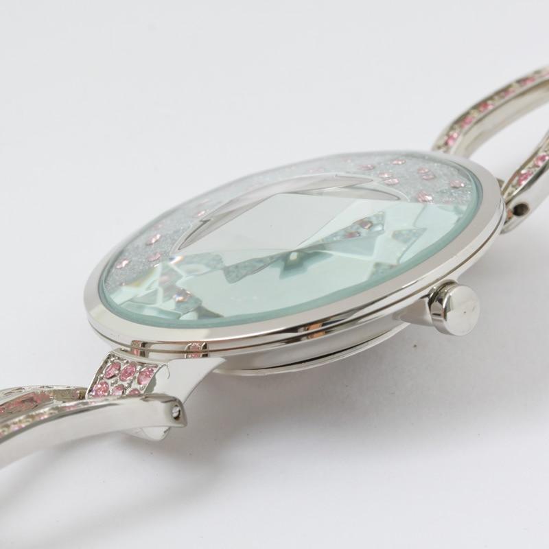 Crystal Rhinestone Shell Lady Women's Watch Japan Quartz Hours Clock - Women's Watches - Photo 3