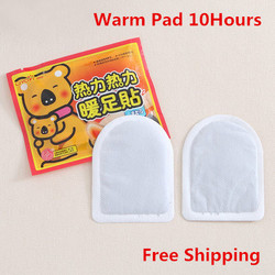 Теплые накладки для тела, теплые гетры для ног, 10 часов, 1 шт., теплые, для ног, холодные, анти зимние, рождественский подарок, паста, гигиеничес...
