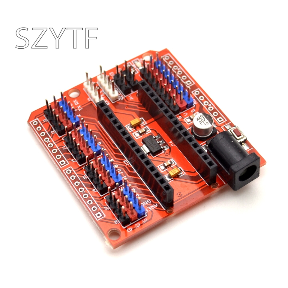 Многофункциональный funduнано-Щит Плата расширения для электрических DIY SCM-оранжевый + черный (нано-щит) для nano 3,0