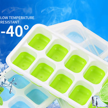 Покрытая форма для льда, лоток для мороженого, форма для мороженого, пластиковая силиконовая форма, десерт, йогурт, морозильник, приспособления кухонные аксессуары