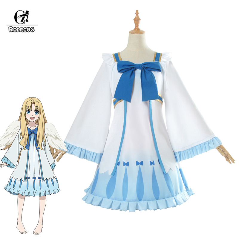 ROLECOS The Rising of the Shield Hero Cosplay Costume Filo Cosplay Sweet Lolita Dress Girl Summer
