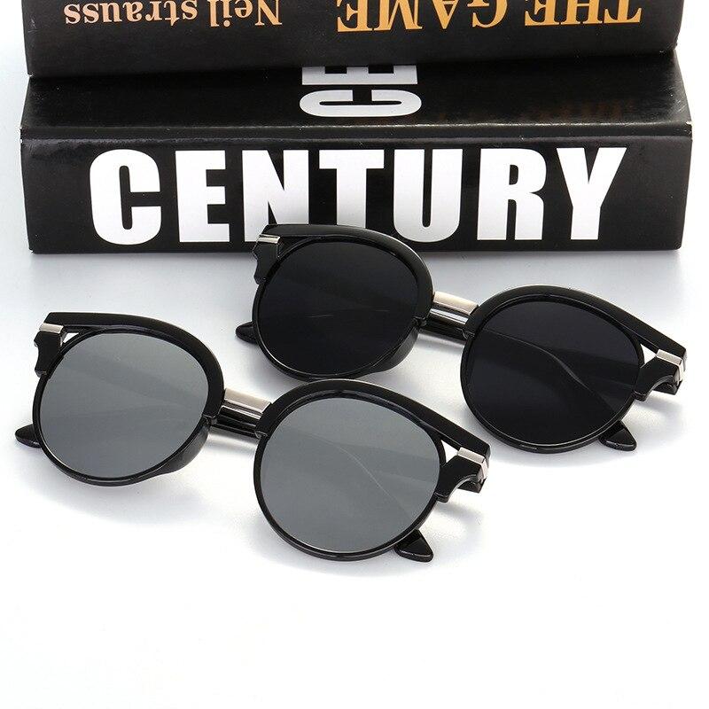 2019 nuevas gafas de sol de mujer de moda gafas de sol redondas - Accesorios para la ropa - foto 2