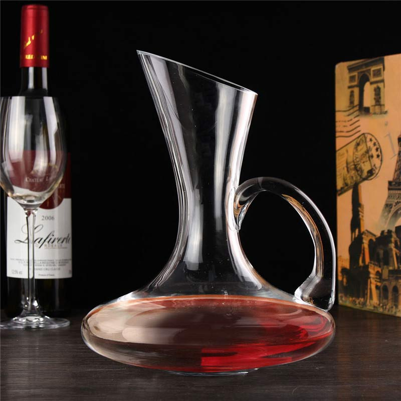 1pc 1500ml unique elegant crystal glass wine decanter red for What is wine decanter