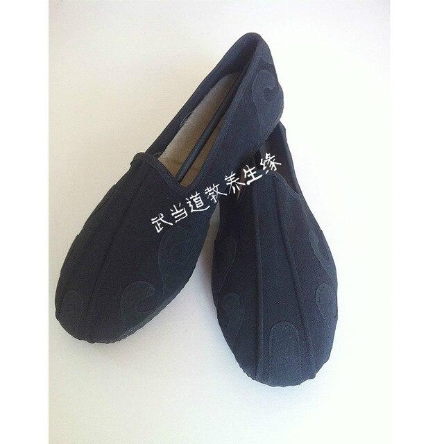 Крюк обувь Удан Даосский Тай-Чи обувь с обуви носить стихари шины в конце боевых искусств тай-чи одежда обувь