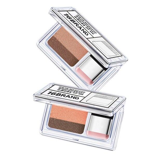 LAIKOU Double Color Eye Shadow Makeup Palette Glitter Palette Eyeshadow Pallete Waterproof Glitter Eyeshadow Shimmer Cosmetics 1