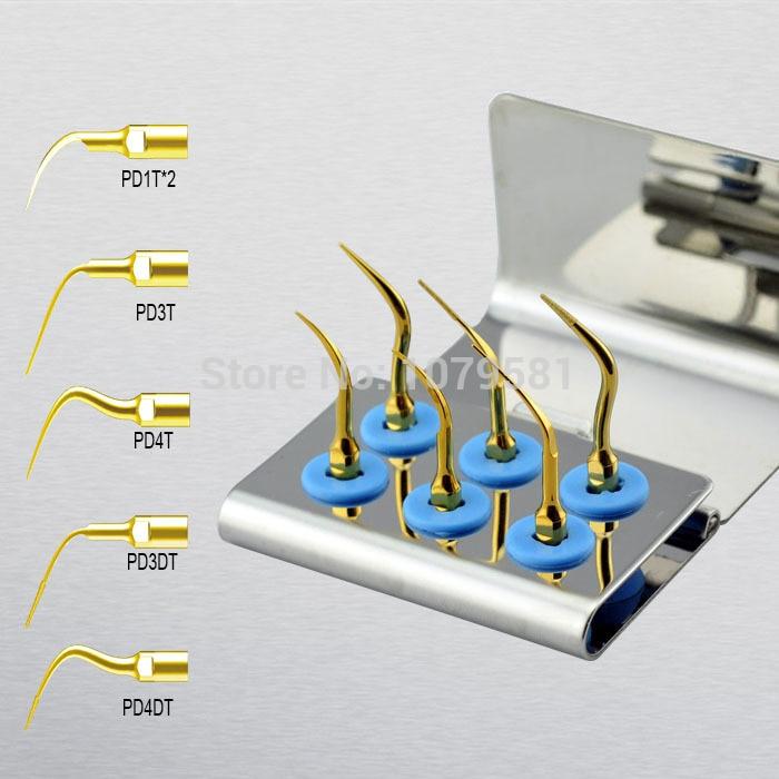 ФОТО 1 set SPKG scaler perio tips kit for Satelec ENDOSUCCESS RETREATMENT KIT and NSK Paro-Set B and GNATUS hu-friedy dental SCALERS