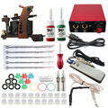 ITATOO Tattoo Kit Cheap Tattoo Machine Set a Pen Kit Tattooing Ink Machine Gun Supplies For Jewelry Weapon Professional TK104010