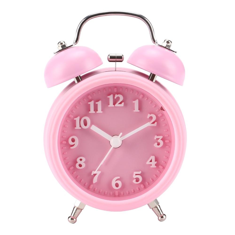 Reloj despertador bonito despertador para niños sin movimiento de tic-tac para niñas y adolescentes reloj despertador para dormir pesado Tabla Periódica de elementos, arte de pared, símbolos químicos, reloj de pared, pantalla educativa, elemento, reloj de aula, regalo de maestro