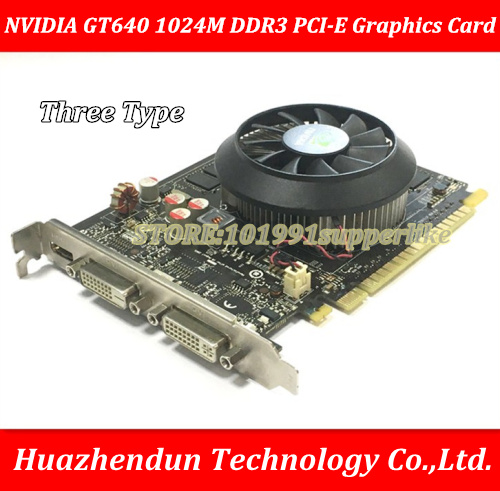 все цены на DEBROGLIE  1PCS  NVIDIA GeForce 640 1GB  DDR3  PCI-E  ATX  GT640 Graphics Video Card онлайн