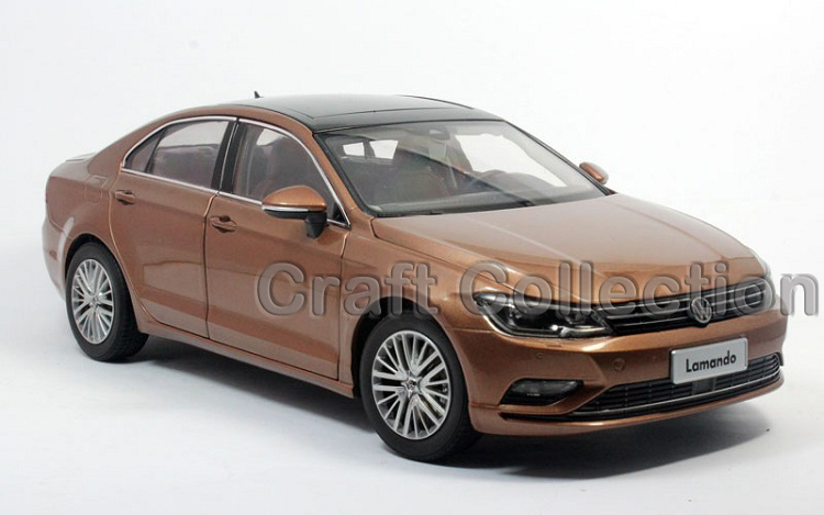 * New Brown 1:18 Volkswagen VW Lamando 2015 Diecast Model Car Classical Sedan Collection Several Colors