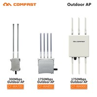 2,4 г и 5,8 Г 300Mbps ~ 1750 Mbps Ethernet беспроводной наружных AP Wi Fi роутера poe мост повторителя с FRP антенна базовой станции для парка
