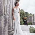 Gorgeous Tight Appliques White Wedding Dress Long 2017 Mermaid Long Train Bridal Formal Gowns Hugging Wedding Formal Dress