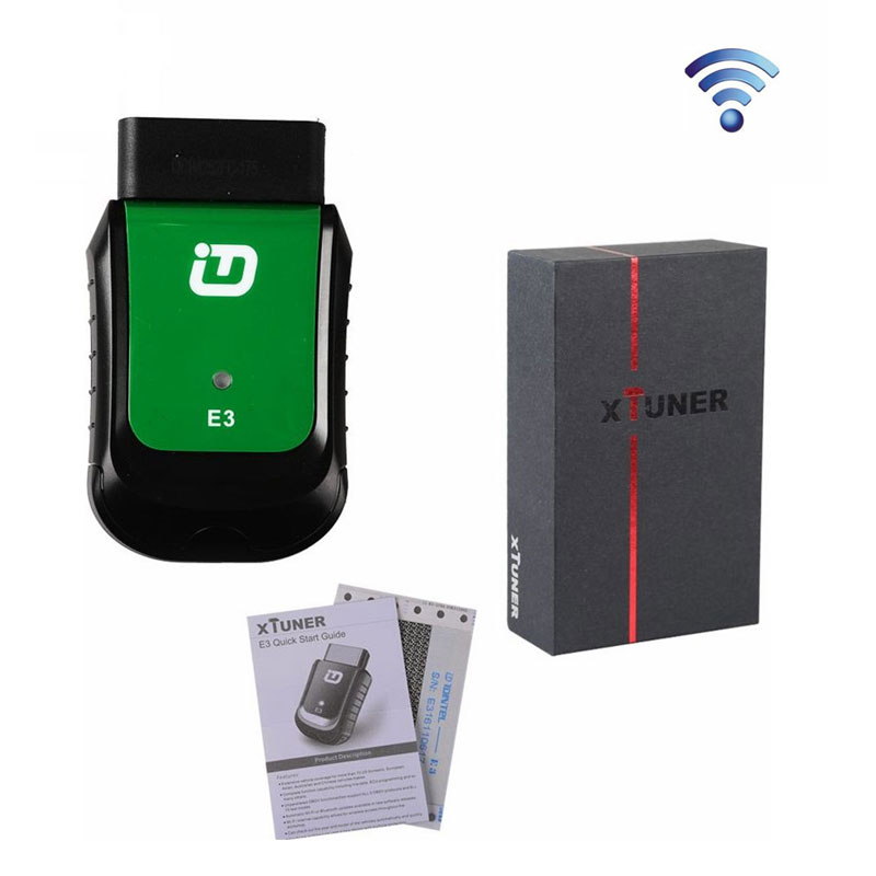 V9.1 E3 XTUNER VPECKER Easydiag Wireless OBDII Diagnostic Tool Update Version of X431 iDiag Support WIN10