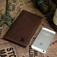 Christmas Gift Vintage Leather Money Clip Wallet With Card Holder Hot Sale Purses Low Price Free