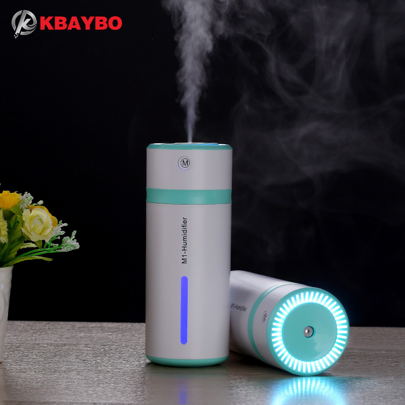 ejoai 230ML Ultrasonic Humidifier USB Car Humidifier Mini Aroma Essential Oil Diffuser Aromatherapy Mist Maker Home Office