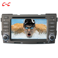 New Capacitive Screen Car DVD Player For Hyundai Sonata NFC With GPS Radio Mirror Link Free