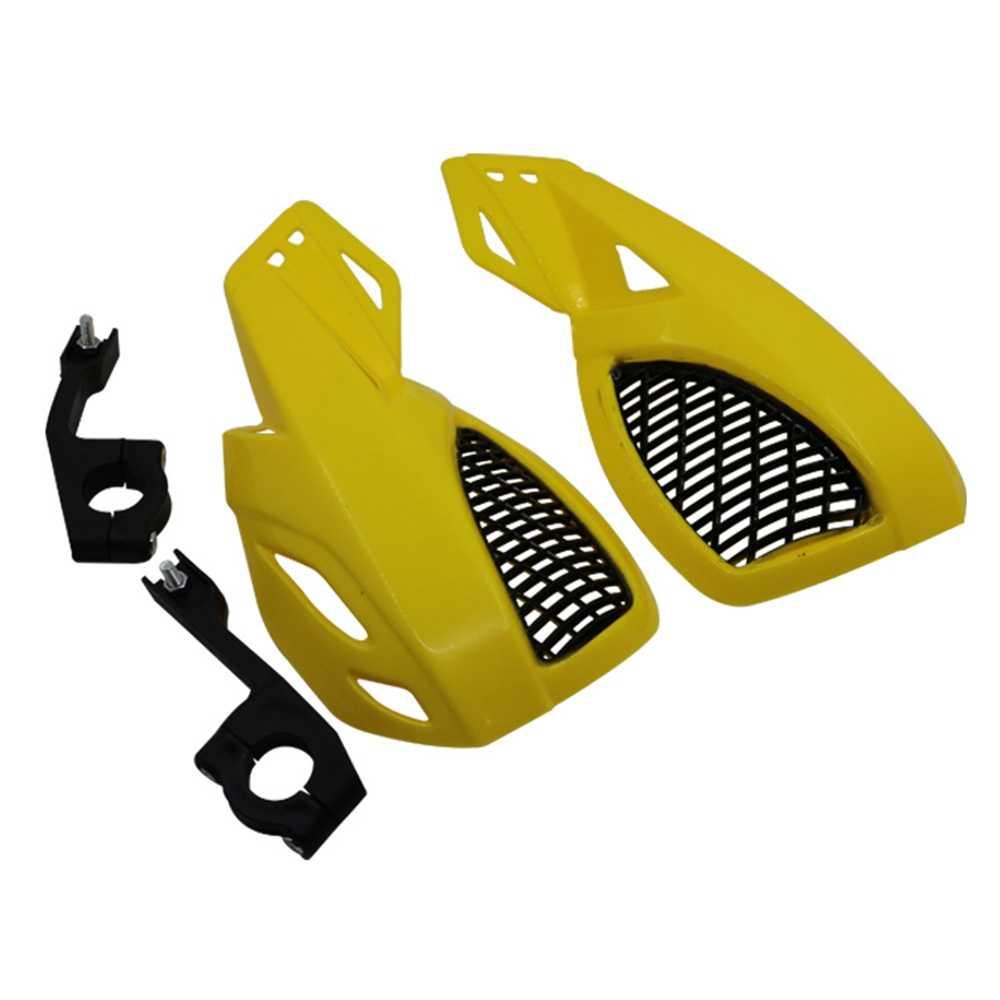 """Motocicleta guardas de mão universal 7/8 """"22mm barra escova mão protetor para motocross corrida atv bicicleta sujeira fora estrada ktm honda yamaha"""