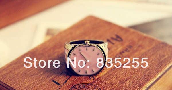 4 ชิ้น/เซ็ตแฟชั่นคริสตัล Rhinestone ลูกปัดดอกไม้สีบรอนซ์ Charms แหวนแกะสลัก Dangle Retro เครื่องประดับสตรี
