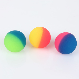Image 5 - 3Pcs/set Colorful Toy Ball Mixed Bouncy Ball Child Elastic Rubber Children Kids Outdoor Bath Bouncy Toys Cool