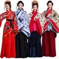 Elegante belleza de las mujeres orientales Tradicionales Emperatriz Hanfu Chino antiguo Traje de La Princesa ropa de la Dinastía han