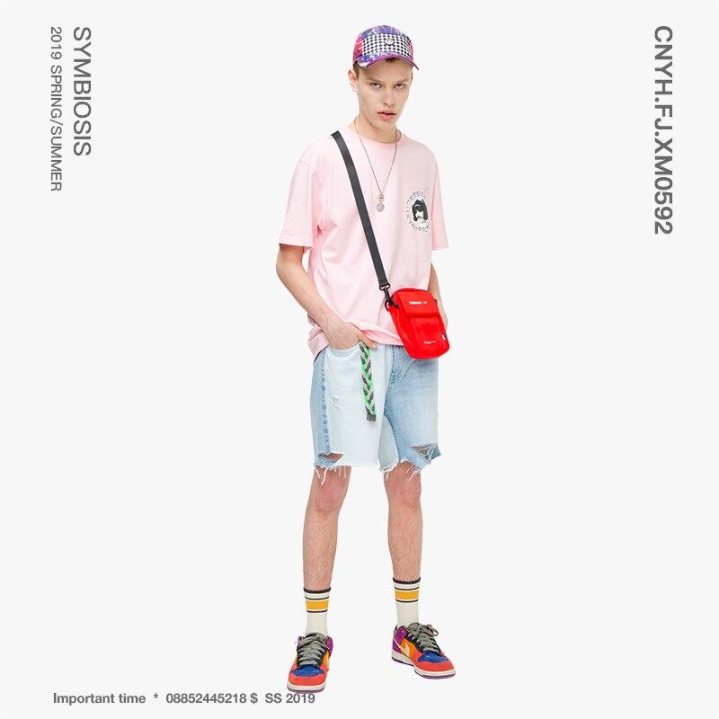 Viishow 2019 Mens Summer Jeans Men Tide Brand Men's Hole Pants Must Short Jeans Casual Student Wear Men Denim Shorts Nd1235192