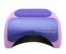 Nail polish gel tools Professional CCFL 48W LED UV Lamp Light 110-220V Nail Dryer with Automatic nail tools