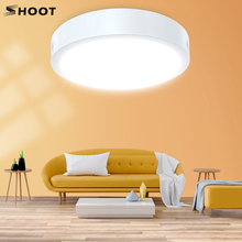 SHOOT LED Panel Lamp LED Ceiling Light 12W 18W Down Light Surface Mounted AC 85-265V Modern Lamp For Home Hotel Decor Lighting 3w 170 lumen 6500k white led ceiling lamp down light ac 85 265v
