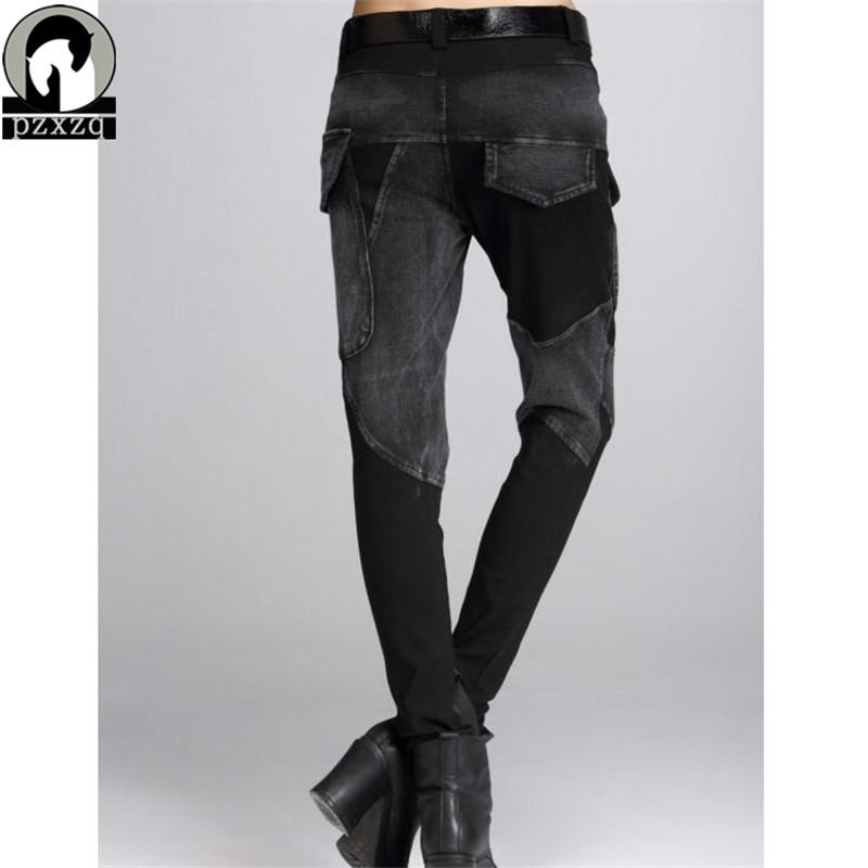 Sexy femmes Jeans noir