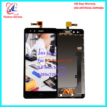 For Original BQ Aquaris X5 LCD Screen Display+Touch Screen Digitizer Sensor Assembly Replacement 5.0