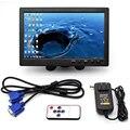 10.1 Дюймов 1024*600 Пикселей HDMI VGA AV Монитор Автомобиля С Новый Экран Тонкий Дизайн УФ-Лакирование, подходит Для Мониторинга, И Т. Д.