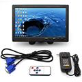 10.1 Polegada 1024*600 Pixels HDMI VGA AV Monitor Do Carro Com Tela Brand New Design Slim Revestimento UV, adequado Para O Monitoramento, ETC.