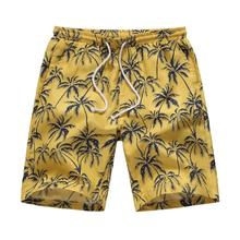 Hawaiian Beach Men's Shorts Leisure Flowers Summer Shorts for Men fitness clothing Casual Short Pants Men New