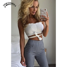 ad83cd7ba5280 2018 Newest Women Sexy Vintage Bras Bandage Ruched Tops Summer Strapless  Female Mujer Chest Bras Crop