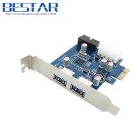 USB3 0 USB 3 0 PCI E Pcie Card 2 PORT And 20pin Female Low Profile