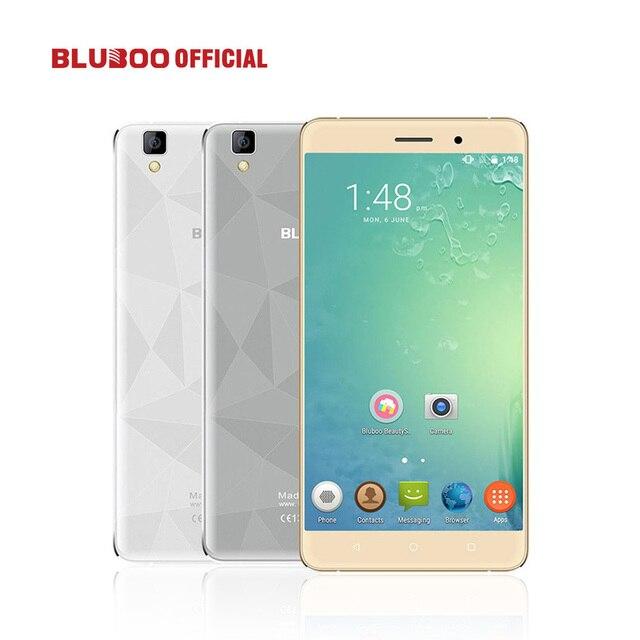 """Original bluboo maya 5.5 """"hd 3000 mah wcdma smartphone android 6.0 mtk6580 quad core 2 gb ram 16 gb rom 8.0mp $ number mp móvil teléfono"""