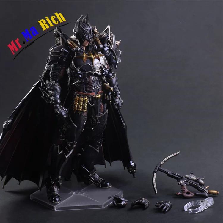 Movie Figure 27 Cm Play Arts Kai Batman Timeless Steam Punk Pvc Action Figure Collectible Toy аверин александр николаевич социальная коммуникация уч пос
