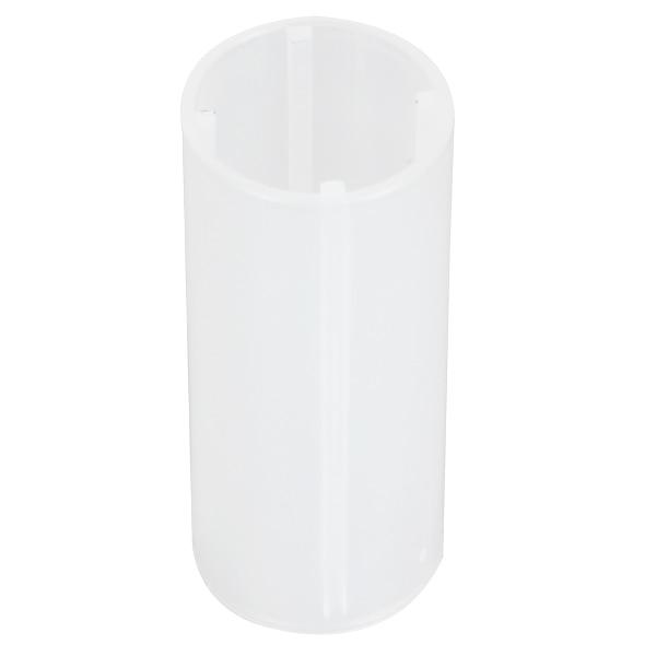 Cilindro de Tubo Fixo Caso Da Bateria de plástico para 18650 Bateria Acessórios