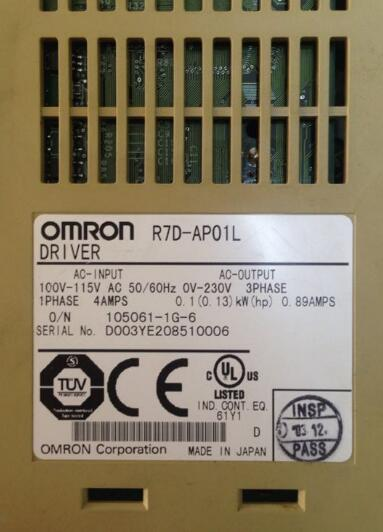 Used one , 90% appearance new , 3 months warranty   , servo drive R7D-AP01L  , fast shipping Used one , 90% appearance new , 3 months warranty   , servo drive R7D-AP01L  , fast shipping