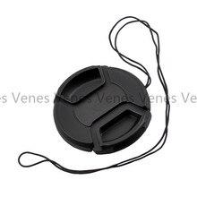 VENES 50 adet/grup lens kapağı ile 49mm, Hiçbir kelime orta tutam kapak 49mm, merkezi Tutam Lens Kapağı