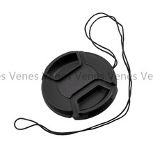 VENES 50pcs/lot  lens cap with 49mm, No word with middle pinch cover 49mm,Centre Pinch Lens Cap