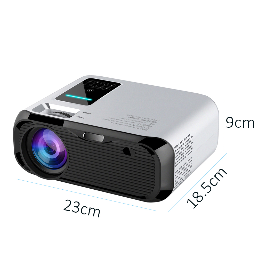 Image 4 - Smartldea 2019 New 720P HD MINI Projector,native 1280*720 3000lumens LED Video Proyector for Home Cinema Portable Beamer HDMI-in LCD Projectors from Consumer Electronics