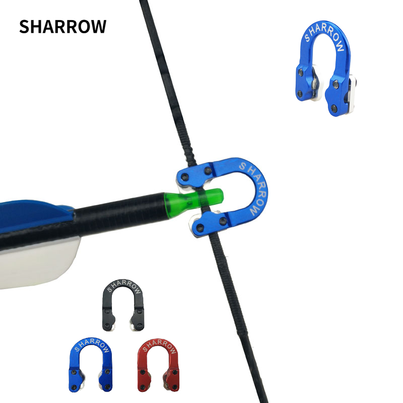 Arrow Accessories D Loop Metal D Ring Buckle Rope Imports of Aerospace Aluminum U Compound Bow Accessories