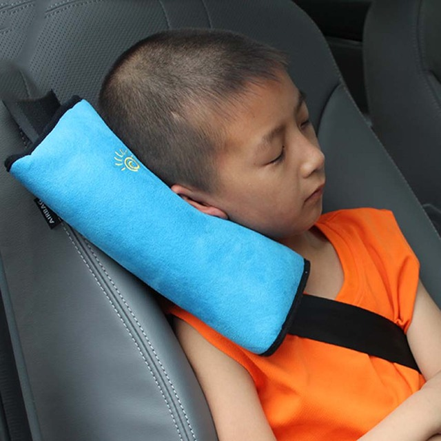 Universal Baby Car Cover Seat Pillow Safety Belts Children Strap Shoulder Protection Cushion Bedding Support Interior